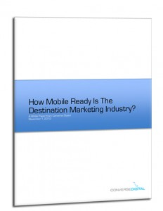 How Mobile Ready is the Desintation Marketing Industry White Paper