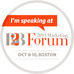 Hear Tom Martin Social Selling Keynote Speaker at MarketingProfs B2B Forum in October 2014