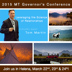 Hear Tom Martin Social Selling Tourism Keynote Speaker at the Montana Governor's Conference