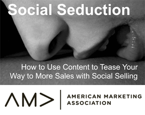 I'm keynote at new orleans american marketing association meeting on social selling