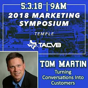 TACVB 2018 Marketing Symposium Keynote Speaker on Social Media, Influencer and Consumer Generated Content