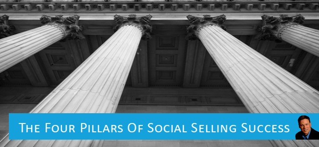 Four Pillars of Social Selling Success by Tom Martin